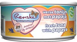 Renske Verse Tonijn met Papaja voor de kat - blikje 70 gram