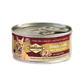 Carnilove blikvoeding Kip en Lam kat