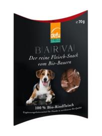 Defu Hondensnack 100%  Bio-Rindfleisch - Puur Biologische Rund