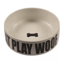 Duvo Keramiek bak Eat Play Woof