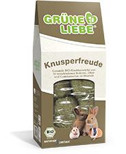 Grüne Liebe - Knusperfreude geperste hooiblokken
