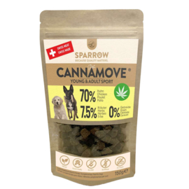 Sparrow Pet CannaMove snacks
