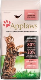 Applaws kattenbrokjes kip & zalm
