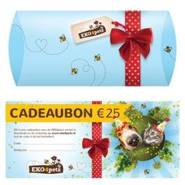 EKO4petz cadeaubon 25 euro