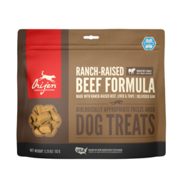 Orijen Freeze Dried Dog Treats Ranch-Raised Beef Formula