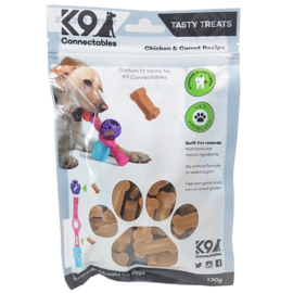 K9 Connectables Chicken and Carrot Treats Medium / Large - THT 04-2020