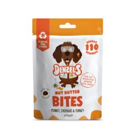 Denzel's Bites Nut Butter - Pinda, Cashew en Kalkoen