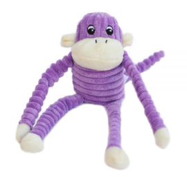 Zippypaws  Spencer the Crinkle Monkey - Small Purple