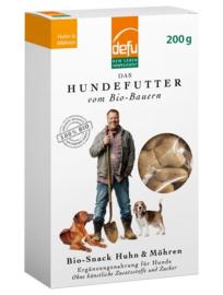 Defu Bio Hondensnack Huhn & - Kip & wortel
