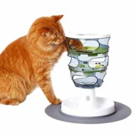 Voedselverrijking voor de kat