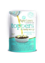Applaws Toppers tasty Pompoensoep met zeebaars en tonijn