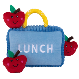 Zippypaws Burrow Lunchbox with apples