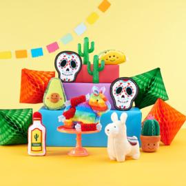 ZippyPaws Fiësta Collectie - 7 speeltjes