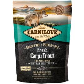 Carnilove FRESH Karper en Forel 1,5 kilo