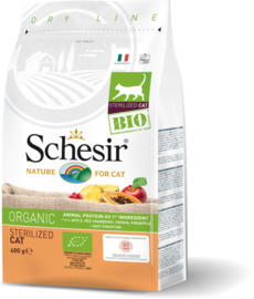 Schesir BIO Organic brokjes - Sterilized Cat