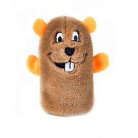 ZippyPaws Squeakie Buddy - Beaver