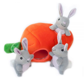 Zippypaws Burrow Bunny and Carrot
