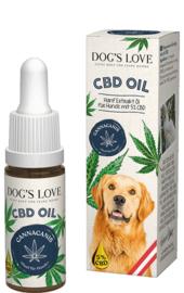 Dog's Love Canna Canis CBD olie voor honden