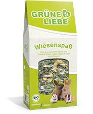 Grüne Liebe - Wiesenspass biologische mix met groene haver, smalle weegbree, appel