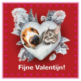 Valentijnsbox hond - Lam