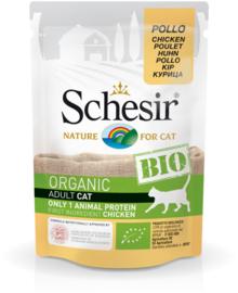 Schesir BIO Organic Adult cat Kip pouches