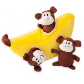 Zippypaws Burrow Monkey and Banana