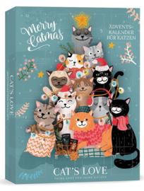 Cat's love Adventskalender voor de kat - biologisch