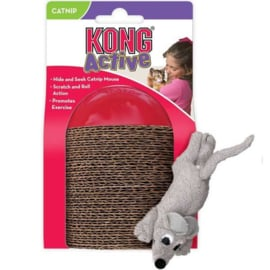 Kong Active Hide & Seek Catnip Mouse