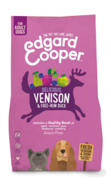 Edgard & Cooper Vers Hert & scharreleend met appel, rode biet en blauwe bes