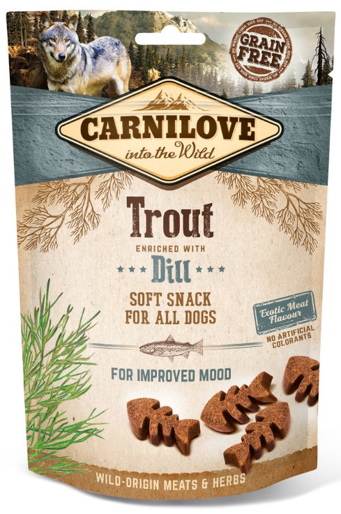 Carnilove hondensnacks Soft - Forel