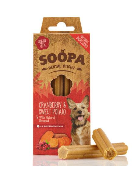 Soopa Sticks Cranberry & Sweet Potato