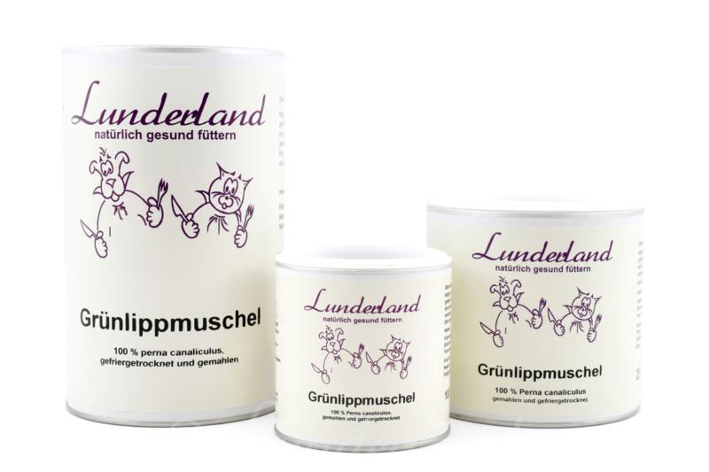 Lunderland groenlipmossel voor hond of kat