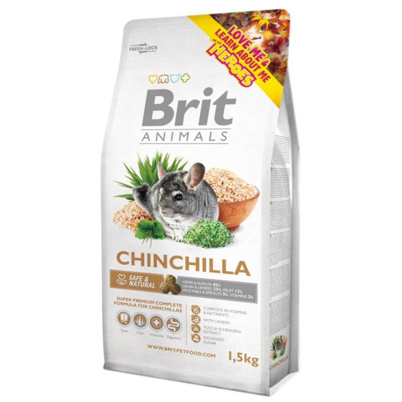 BRIT Chinchilla voer