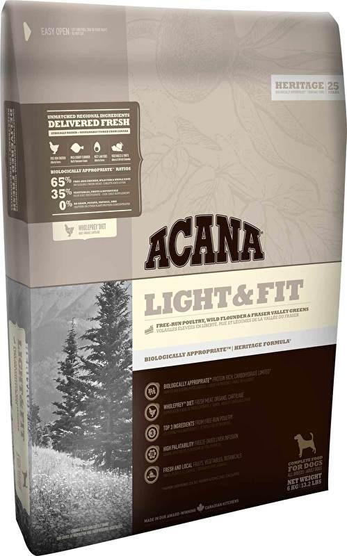 Acana Heritage Light & Fit