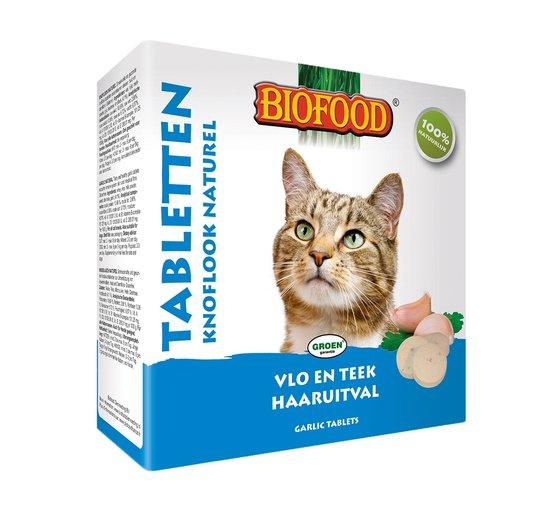 Biofood tabletten vlo en teek voor de kat