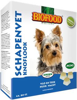 Biofood Schapenvet - knoflook bonbons mini