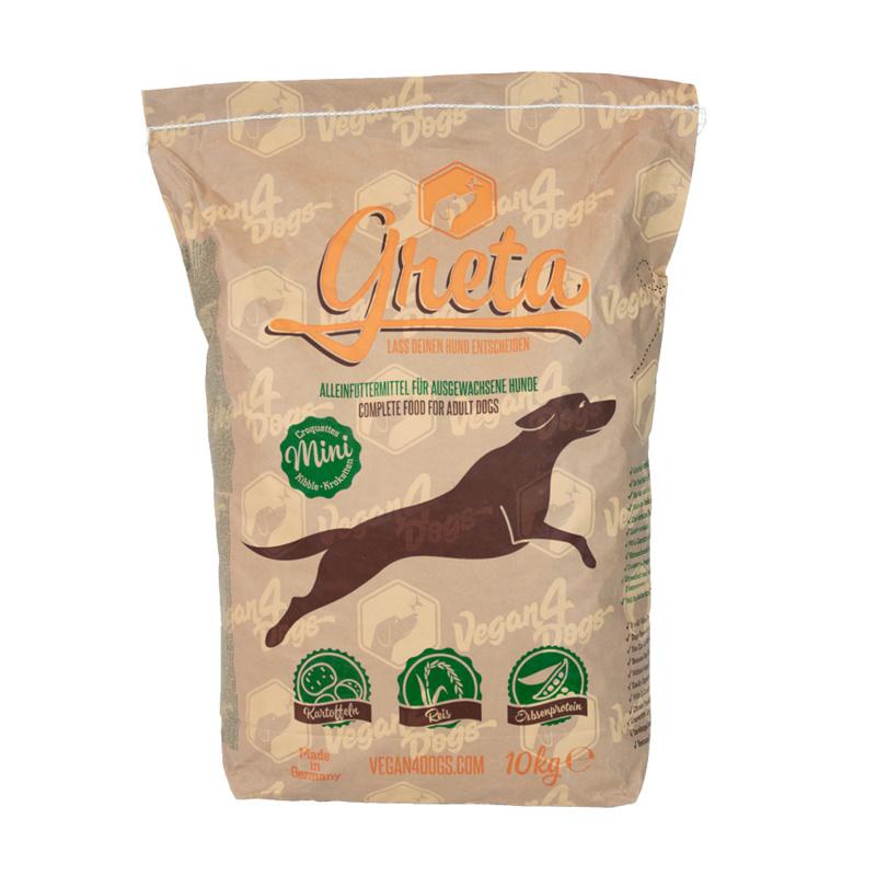 Greta vegetarische hondenbrok - Small Breed 10 kg