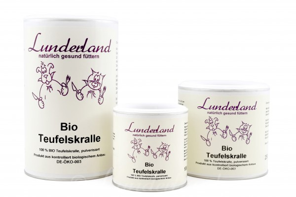 Lunderland biologisch duivelsklauw poeder