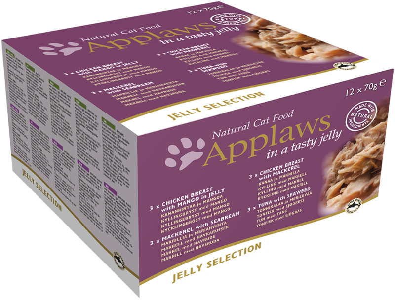 Applaws Jelly Multipack 12 x 70 gram