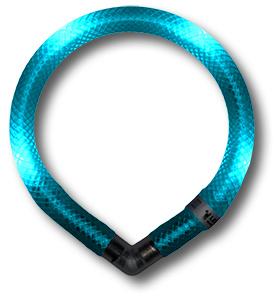 Leuchtie Mini lichthalsband Turquoise