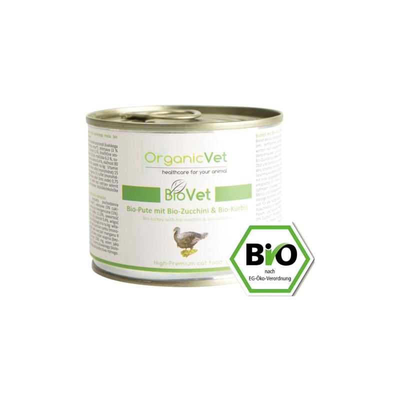 OrganicVet BIOVET-Menu Bio Kalkoen met courgette