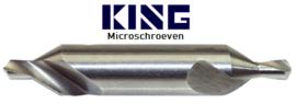 Centreerboor DIN 333 HSS - 1,0 mm