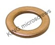 sluitring voor cilinderkop DIN 433 messing / 2,7 ( M 2,5 ) / 200 st.