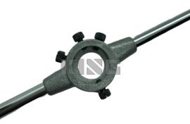 Snijplaathouder lichtmetaal 16 x 5mm (M1 - M2,3)
