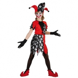 Joker Halloween 7-9 jaar Meisje (DKW 013-219)