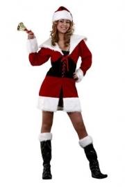 Kerstvrouw Luxe met beenkappen Maat M (DKW 024-027)
