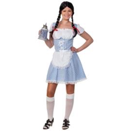 Beiers meisje Blauw volwassen (DKW 013-266)