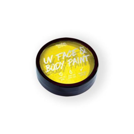 UV face&body cake paint yellow (18g) (004-305)