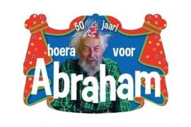 """Kroonschild """"Hoera voor Abraham"""" (DKW 029-011)"""