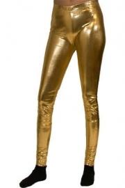Legging Lamee goud L/XL (DKW 013-180)